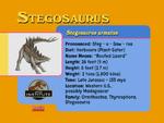 Dinostars Stegosaurus