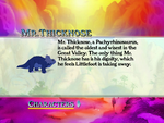 Mr Thicknose species