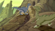 Thud and Screech find cave