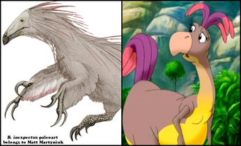 Beipiaosaurus Doofah Comparison