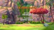 The Hidden Canyon title