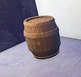 Medium Barrel prop placed
