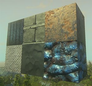 Iron-textures-demo