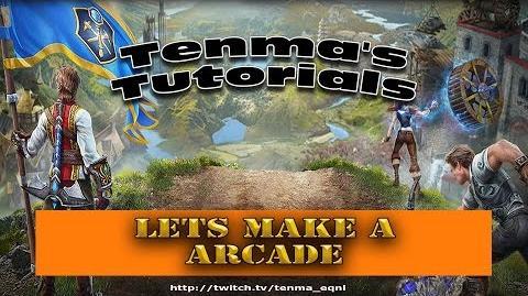 Everquest Next Landmark - How to make a Arcade