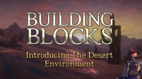 Building Blocks Desert Environment