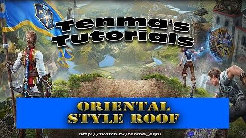 Everquest Next Landmark - Oriental Style Roof Tutorial