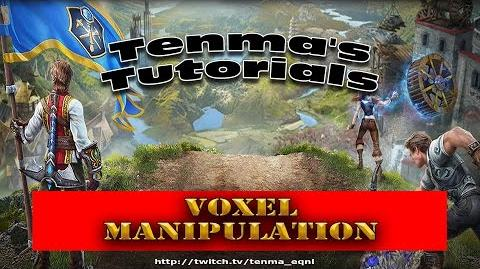 EverQuest Next Landmark - Tutorial Voxel Manipulation