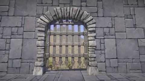Landmark - żelazna krata (Iron Portcullis)