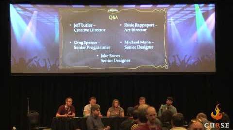 EQ Next Creating Worlds Panel @ SOE Live 2 2