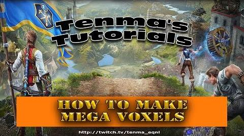 EverQuest Next Landmark - Tutorial Mega Voxels