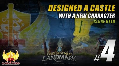 Landmark Beta Gameplay 4 ★ Designed A Castle With A New Character