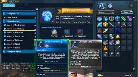 EverQuest Next Landmark Salvaging for Aspects of Gathering