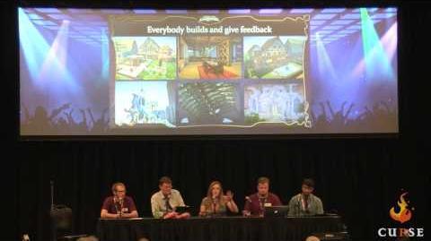 EQ Next Creating Worlds Panel @ SOE Live 1 2