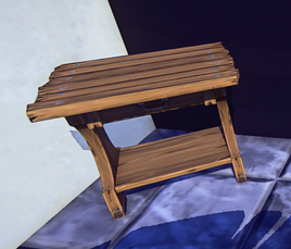 Small End Table prop placed