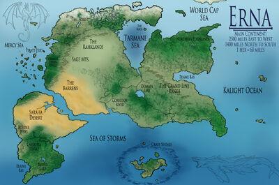 Erna Land Map