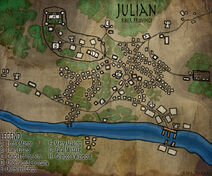 Map of Julian