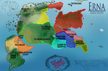 Magical Societies Map