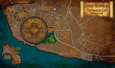 Ankh Moporok Map