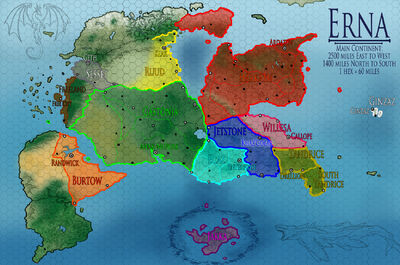 Erna Political Map grid