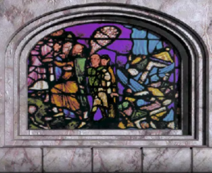 Stained Glass Dracoid Exodus