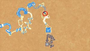 Frozen Wastes Automap