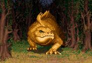 Scotia as Giant Lizard