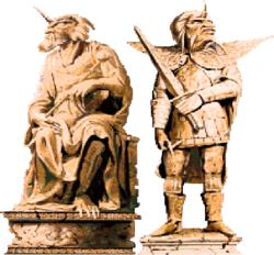Ancinets Statues 1