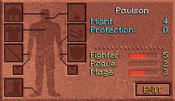 Paulson Character Screen