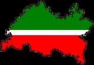 Флажок Р Татарстана