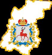 Флажок Р Нижегородской области