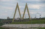 Millenium bridge to damb