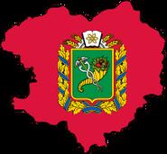 Флажок УКР Харьковская область