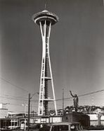 150px-Early photo of seattle space needle