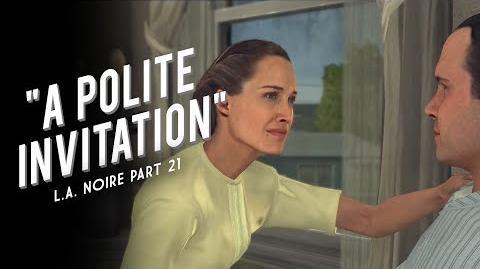 L.A. Noire Part 21 A Polite Invitation