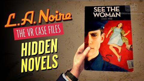 LA Noire VR - Novels Locations Well Read Individual Achievement Trophy