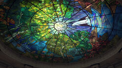 Hall of Records 7 - The stained glass roof without the chandelier