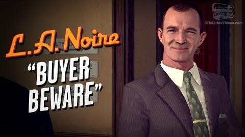 LA Noire Remaster - Case 4 - Buyer Beware