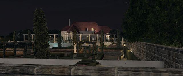 Leland Monroe's mansion