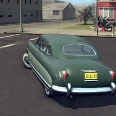 Hudson Commodore vu de derrière