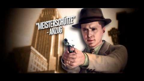 """L.A. Noire - """"Der Meisterschütze"""" - Anzug"""