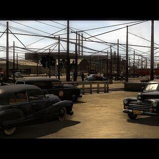 Screenshot de véhicules du LAPD