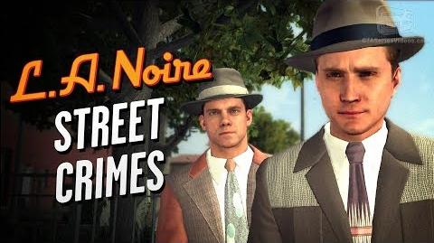 LA Noire Remaster - All Street Crimes The Long Arm of the Law Trophy Achievement