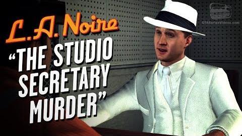 LA Noire Remaster - Case 14 - The Studio Secretary Murder (5 Stars)