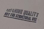 Houseofsticks inferior quality lumber