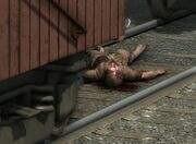 Railyard murder