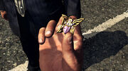 Schmetterlingsbrosche