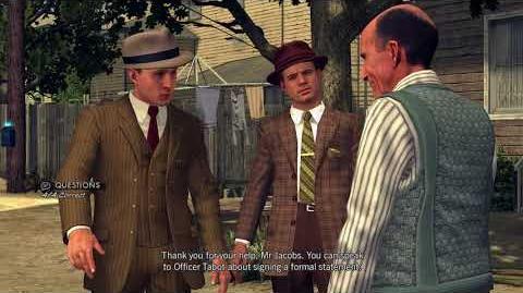 L.A. Noire - Part 6 Traffic Desk - The Consul's Car