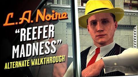 LA Noire Remaster - Case 17 - Reefer Madness - Alternate Solution (5 Stars)