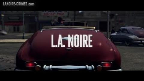 LA Noire - Intro & Mission 1 - Upon Reflection