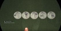 Monedas Un Montón de hierba
